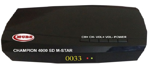 CHAMPION 4000 SD M-STAR MPEG-4 SD