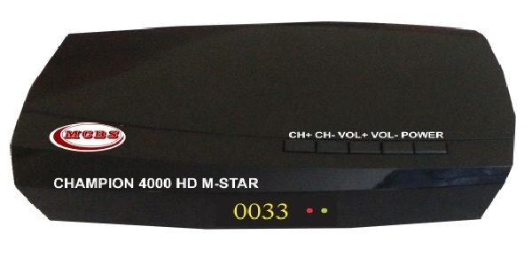 CHAMPION 4000 HD M-STAR MPEG-4 HD