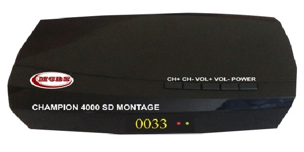 CHAMPION 4000 SD MONTAGE MPEG-4 SD