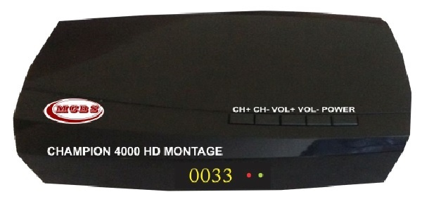 CHAMPION 4000 HD MONTAGE MPEG-4 HD