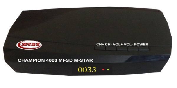 Champion 4000 MI-SD Mstar MPEG-4 SD