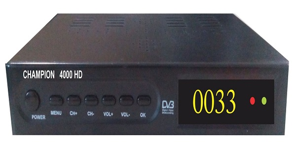 MPEG-4 Champion 4000HD DVB S/S2