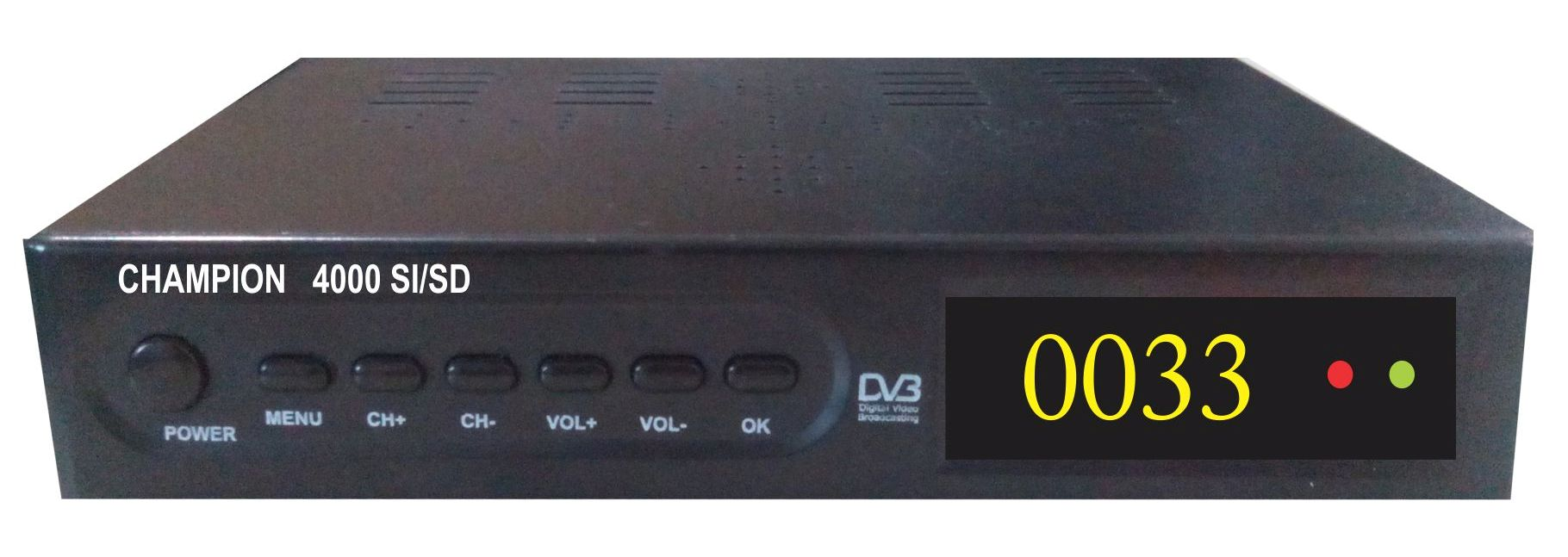 Champion 4000SI/SD-M DVB S/S2 MPEG-4